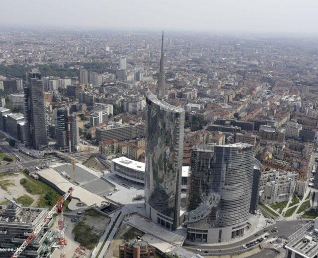 Porta nuova garibaldi grattacielo pelli torre for B b srl milano